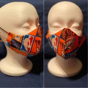 Other - 100% Cotton Face Mask w/ OKC